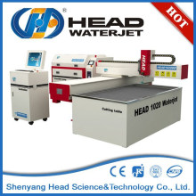 1000mm*2000mm Small glass water jet cutting machine