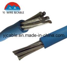 Cable de aluminio, resistencia eléctrica del alambre de aluminio Cable eléctrico del alambre del AA SD (BLV (H07VV-F / H05VV-F))
