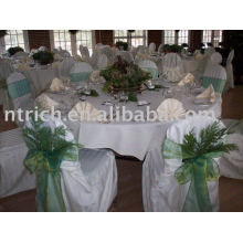 Elegant Polyester Chair cover&Table Cloth