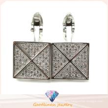 Popular y joyería de moda joyas de ley 925 esterlina joyería mancuerna (A11C003)
