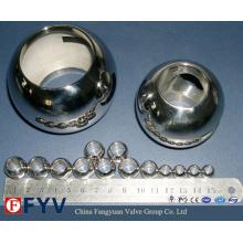 Bolas de válvula de aço inoxidável de alta qualidade para válvula de esfera