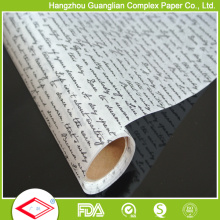 Silicone Coating Available Greaseproof Food Wrapping Paper