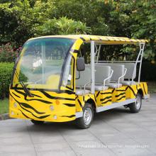 Tipo Marshell 14 Assentos Ônibus Sightseeing Elétrico Personalizado (DN-14)