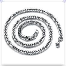 Moda jóias colar de aço inoxidável cadeia (sh066)