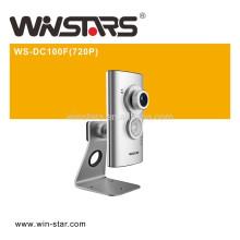 Câmera Wireless N P2P, câmera IP sem fio de 100Mbps, Suporta 720P HD Video Quality,