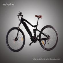 BAFANG mittleres Laufwerk 36V500W billiges elektrisches Mountainbike, motorisiertes Fahrrad des niedrigen Preises hergestellt in China, grüne Energie ebike