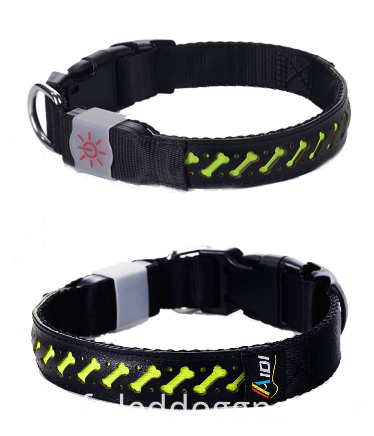 Led Dog Necklace Collar