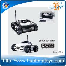 2014 Hot sale 4ch iphone control toy tank avec caméra de transmission en temps réel, iphone wift control trank toy H134731