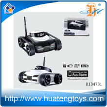 2014 Hot sale 4ch iphone controll toy tank with real-time transmission camera,iphone wift controll trank toy H134731