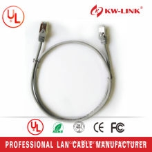 Hot Selling 26AWG 7*0.16MM CCA Cat5e Patch Leads Gray