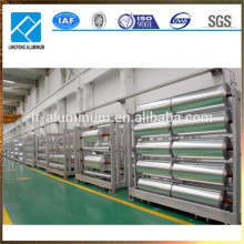 Larger rolls of food grade aluminum foil 8011 8079 1235 with factory price
