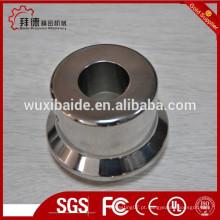Hot vender alto polido bronze natural pia / cnc usinagem bronze fundido pia