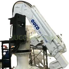 Hydraulic Telescopic Boom 0.98T5M Marine Crane Used for Small Fishing Boat