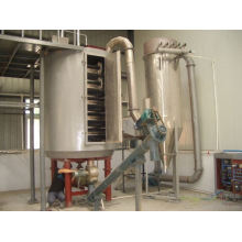 Série 2017 PLG secador de chapas contínuas, leito fluidizado SS, forno elétrico vertical