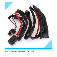 Высокое качество автомобиль авто H 9006 HID фар Лампа реле проводка провода
