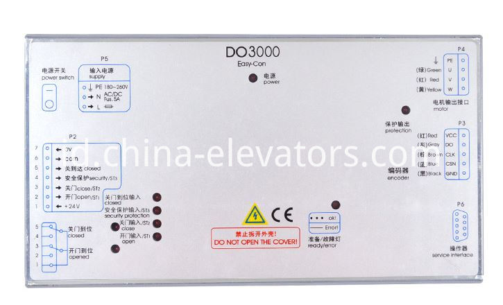 Xizi Otis Elevator Door Controller DO3000 Easy-Con