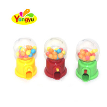 Plastic Candy Machine Filled with Fruits Round Hard Candy