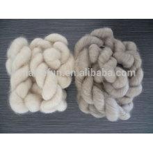 Tops de fibra de cachemira de Mongolia depuradas 100% puros