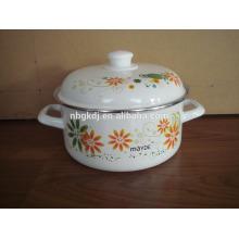 high quality enamel flower pot kicten dinnerware high quality enamel flower pot kicten dinnerware