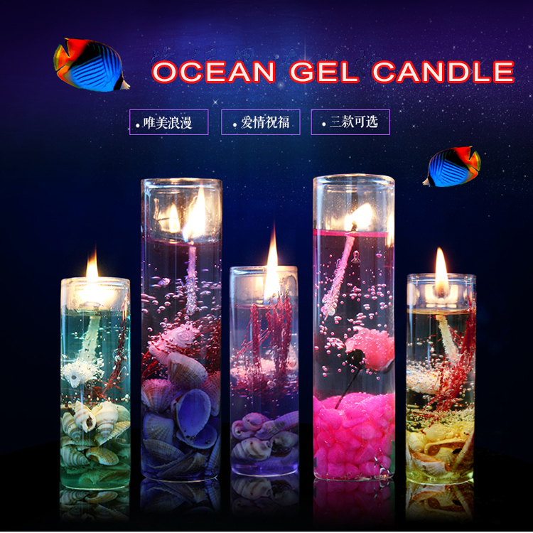Crystal Ocean Jelly Candles