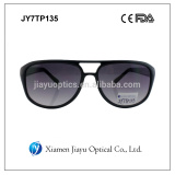 Aviator style plastic sunglasses high quality