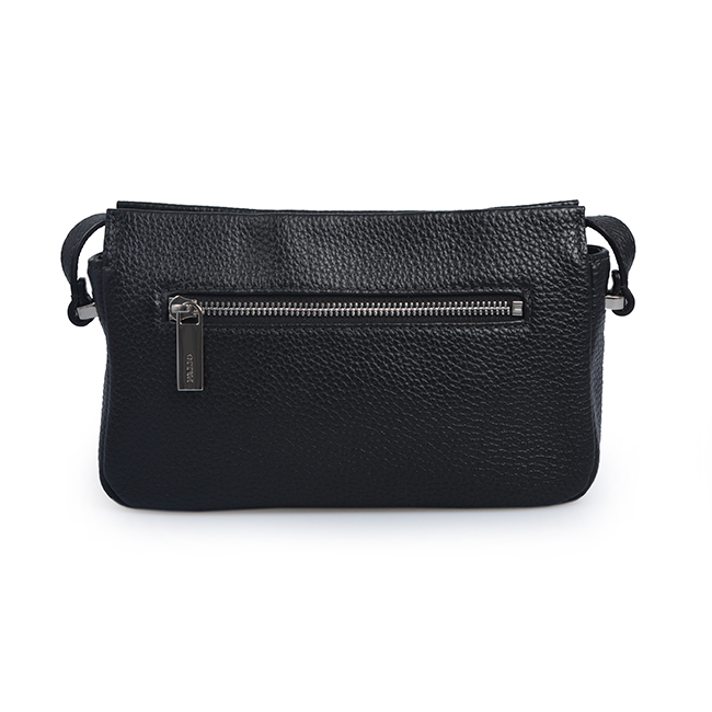 mini black leather crossbody bags for women
