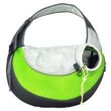 Grüner großer PVC- und Mesh-Haustier-Sling