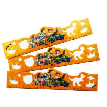 Pet / PP 3D Letnicular Ruler