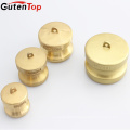 "GutenTop High Quality Camlock DP-200 4"" Brass Coupling Cam Groove Quick Connect Dust Cap Coupling"