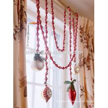 Guirnalda decorativa decorativa al aire libre del día de fiesta de la Navidad
