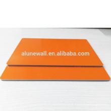 Exterior PVDF nova inovação material de construção painel composto de alumínio acp