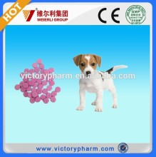 fast delivery in stock For dog tablet Fenbendazole,praziquantel veterinary use