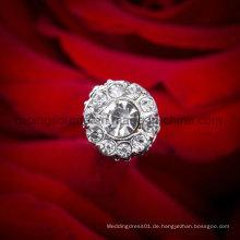 Großer Kristallcluster Rhinestone-Blumen-Kuchen-Pin-Auswahl-Blumenstrauß-Schmucksache-Hochzeit