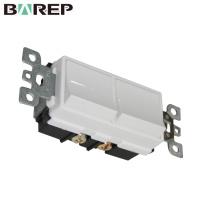 YGD-002 GFCI interruptor plástico americano interruptor de comutação elétrica