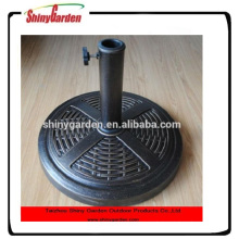 outdoor umbrella plastic resin base