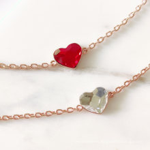 18K Gold Plated First Grade Crystal Fond Heart Women Bracelet with Premium Grade Crystal From Austria