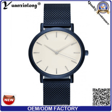 Yxl-278 Japan Movement Fob OEM Hombres Reloj de malla de acero inoxidable reloj de moda Vogue Ladies encantador reloj de pulsera al por mayor