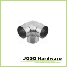 Glass Stair Handrail 3 Way Tee Elbow Connector (HS203)