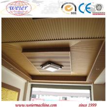 Extrudeuse à vis simple à haute production pour la fabrication de Decking de PVC de WPC