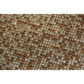 Aluminum mesh mix color rhinestone