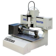 Cilindro grabado del CNC 3d máquina JK-3030