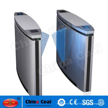 Portão de barreira de retalho retrátil aprovado pela CE com sistema de gerenciamento de filas