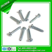 RoHS Zinc plateado tornillos de 3,5 mm para juguete de plástico