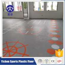tapis de sol de gymnastique de plancher de gymnase de PVC