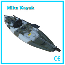 Plastic Ocean Fishing Kayak Pedal Boat Sit on Top Paddle Canoe
