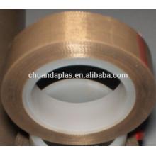 China top 3 fabricante Forte adesiva isolamento térmico teflon fitas de vidro