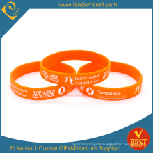 Custom Wholesale Silicone Wristband, Volunteer Wristband (LN-07)