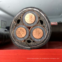 XLPE cabo de alimentação de PVC DC Sheathed isolado