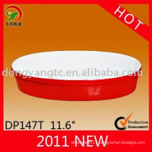 Factory direct wholesale stoneware glaze oven plate