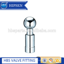 stainless steel sanitary tank rotary spray cleaning ball